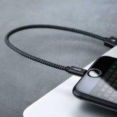 Benks M07 MFI Lightning Cable 25Cm İPHONE HIZLI ŞARJ DATA KABLOSU-3