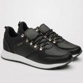 Depodan Carrano Siyah Günlük Sneaker Erkek Ayakkabı