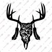 Bıson Dream Catcher Bizon Rüya Kapanı Dekoratif Lazer Kesim Metal Tablo 70x85