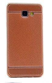 Galaxy A5 2016 Kılıf Zore Deri Lazer Kaplama Silikon-6