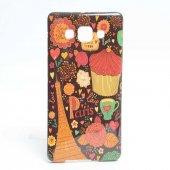 Galaxy A5 Kılıf Zore Şehirli Desenli Silikon-5