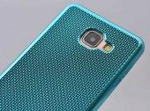 Galaxy A7 2016 Kılıf Zore Hasırlı Silikon-2