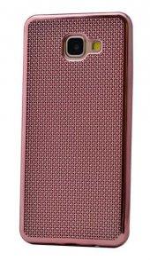 Galaxy A7 2016 Kılıf Zore Hasırlı Silikon-9