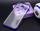 Galaxy A8 2018 Kılıf Zore Dört Köşeli Lazer Silikon-10