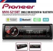 Pioneer Mvh S215 Bt Bluetoothlu Oto Teyp