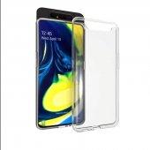 Galaxy A80 Kılıf Zore Süper Silikon-5