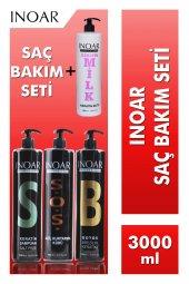 Inoar Saç Bakım Seti (Keratin&botox Keratinli...