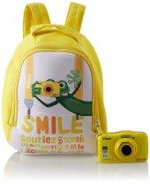 Nikon Coolpıx W100 Yellow Backpack Kit Kompakt...