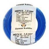 öznur Bakır 1,5 Nya Kablo Mavi 100 Metre