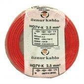 öznur Bakır 2,5 Nya Kablo Kırmızı 100 Metre