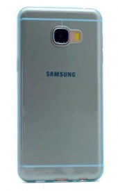 Galaxy C7 Kılıf Zore Ultra İnce Silikon Kapak 0.2 mm