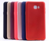 Galaxy C7 Pro Kılıf Zore Premier Silikon-5
