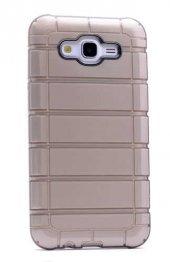 Galaxy Grand Prime G530 Kılıf Zore Çizgili Motomo Kapak-4