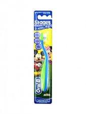 Oral B Stages Diş Fırçası 2 4 Yaş İthal