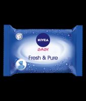 Nıvea Fresh Pure Temizleme Mendili İthal