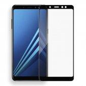Galaxy J4 Plus Zore Kenarları Kırılmaya Dayanıklı Cam Ekran Koruyucu