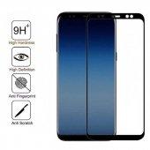 Galaxy J4 Plus Zore Kenarları Kırılmaya Dayanıklı Cam Ekran Koruyucu-2