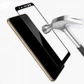 Galaxy J4 Plus Zore Kenarları Kırılmaya Dayanıklı Cam Ekran Koruyucu-3