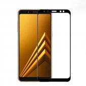 Galaxy J4 Plus Zore Kenarları Kırılmaya Dayanıklı Cam Ekran Koruyucu-5