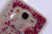 Galaxy J5 2016 Kılıf Zore Sıralı Taşlı Sıvılı Silikon-5