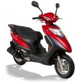 Stmax Lindy 50 Cc Benzinli Scooter Kırmızı
