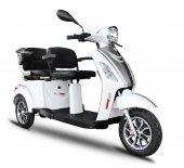 Stmax Gf920 2 Kişilik 3 Teker Elektrikli Araç Beyaz