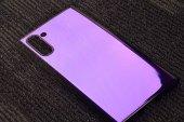 Galaxy Note 10 Kılıf Zore Renkli Transparan Silikon-2