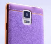 Galaxy Note 3 Kılıf Zore Deri Lazer Kaplama Silikon-2