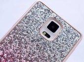 Galaxy Note 4 Kılıf Zore Simli Kırçıllı Silikon-2