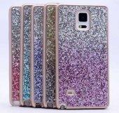 Galaxy Note 4 Kılıf Zore Simli Kırçıllı Silikon-4