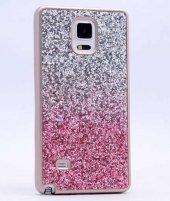Galaxy Note 4 Kılıf Zore Simli Kırçıllı Silikon-5