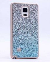 Galaxy Note 4 Kılıf Zore Simli Kırçıllı Silikon-6