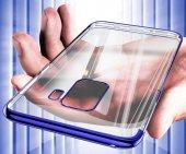 Galaxy S9 Kılıf Zore Dört Köşeli Lazer Silikon-2