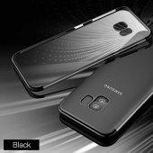 Galaxy S9 Kılıf Zore Dört Köşeli Lazer Silikon-4