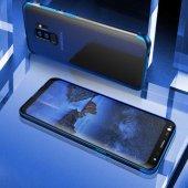 Galaxy S9 Kılıf Zore Dört Köşeli Lazer Silikon-5