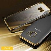Galaxy S9 Kılıf Zore Dört Köşeli Lazer Silikon-6