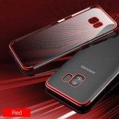 Galaxy S9 Kılıf Zore Dört Köşeli Lazer Silikon-7