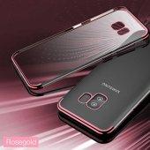 Galaxy S9 Kılıf Zore Dört Köşeli Lazer Silikon-8