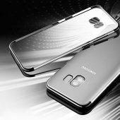 Galaxy S9 Kılıf Zore Dört Köşeli Lazer Silikon-9