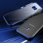 Galaxy S9 Kılıf Zore Dört Köşeli Lazer Silikon-10