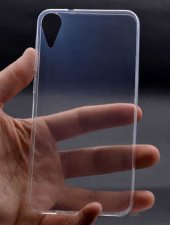 HTC Desire 825 Kılıf Zore Ultra İnce Silikon Kapak-3