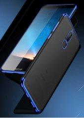 Huawei Mate 10 Lite Kılıf Zore Dört Köşeli Lazer Silikon-3