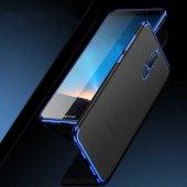 Huawei Mate 10 Lite Kılıf Zore Dört Köşeli Lazer Silikon-5