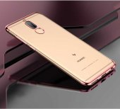 Huawei Mate 10 Lite Kılıf Zore Dört Köşeli Lazer Silikon-9