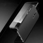 Huawei Mate 10 Lite Kılıf Zore Dört Köşeli Lazer Silikon-10