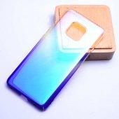 Huawei Mate 20 Pro Kılıf Zore Renkli Transparan Kapak-5