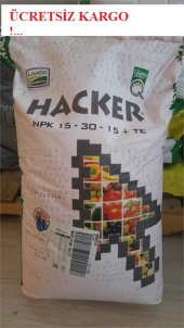 15+30+15 Npk Gübre (Hacker) Harika