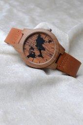 Watchart Ahşap Desenli Unisex Kol Saati M164791