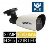 OPAX-2532P 2 mp 4mm Lens Poeli H.265 IR Bullet IP Kamera