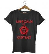 Keep Calm Carry Salt Erkek Tişört - Dyetee